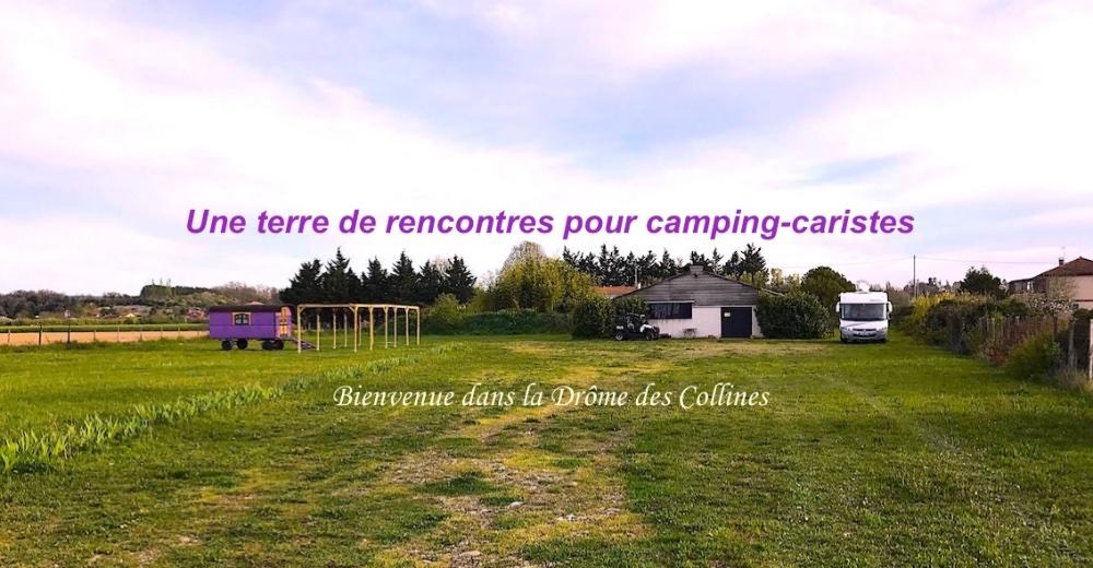 Aire camping-car à Épinouze (26210) - Photo 1